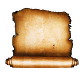 Ancient scroll — Stock Photo