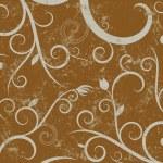 Floral grunge background — Stock Vector #8400026