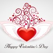 Valentine's Day Card — Stock Vector #8400236