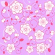 Floral background — Stock Vector #9181288