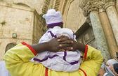 Nigerianische pilger — Stockfoto