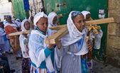 埃塞俄比亚受难 — 图库照片