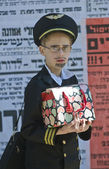 Purim in Mea Shearim — Stock Photo