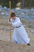 Samariter schawuot beten — Stockfoto
