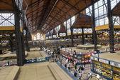 Ocak ızgarası market hall, budapeşte — Stok fotoğraf