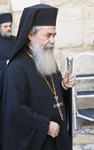 Greek Orthodox Patriarch of Jerusalem — Stock Photo