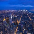 Stock Photo: New York at night