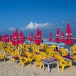 Tel Aviv beach - Stock Photo