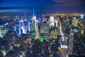 New york nachts — Stockfoto