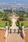 Bahai-gärten — Stockfoto
