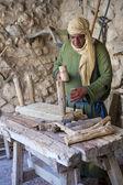 Palestinian carpenter — Stock Photo