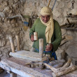 Palestinian carpenter — Stock Photo