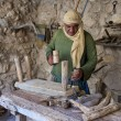 Palestinian carpenter - Stock Photo