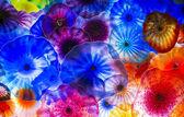 Bellagio glas bloemen — Stockfoto