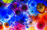 Bellagio glas bloemen — Stockfoto