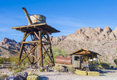 Nelson Ghost town — Stock Photo
