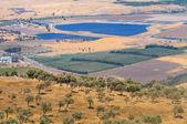 Valle del giordano — Foto Stock