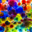 Bellagio glass flowers - Stock Photo