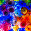 Bellagio glass flowers - Stockfoto