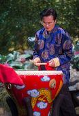 Chinese musician — Stock Photo