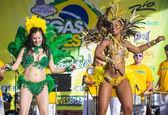 Vegas loves Brazil — Stock Photo
