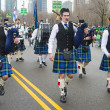 Chicago Saint Patrick parade - Stockfoto