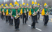Chicago Saint Patrick parade — Stock Photo