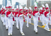 Chicago Saint Patrick parade — Stockfoto