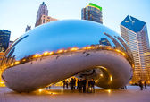 Il cloud gate — Foto Stock