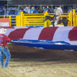 Stock Photo: Helldorado days rodeo