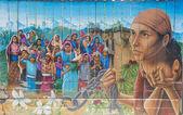 ミッションの壁画 — ストック写真