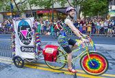サンフランシスコのゲイの自尊心 — ストック写真