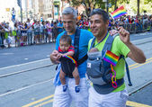 San Francisco gay-pride — Stockfoto