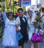 Orgoglio gay di san francisco — Foto Stock