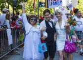 San Francisco gay pride — Stock Photo