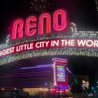 Biggest Little City in the World sign — Stock Photo