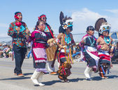 Cerimonial de indian intertribal gallup — Foto Stock