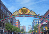Gaslamp , San Diego — Stock Photo