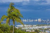 San Diego skyline — Stock Photo
