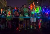 Las Vegas Glow run — Foto de Stock