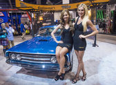 SEMA car show 2013 — Stock Photo