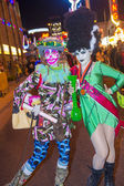 Las Vegas Halloween parade — Stock Photo