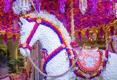 установка цветок отель wynn лас-вегас — Стоковое фото