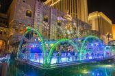 Las vegas, pista di ghiaccio hotel veneziano — Foto Stock