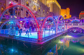 Las Vegas , Venetian hotel Ice rink — Stock Photo