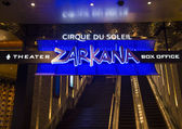 Las Vegas Zarkana — Stock Photo