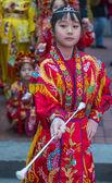 Chinese new year parade — Stock Photo