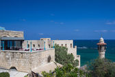 Old Jaffa seascape — Stockfoto