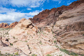 Red Rock canyon , Nevada. — Zdjęcie stockowe