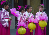 Chinese new year parade — Foto de Stock